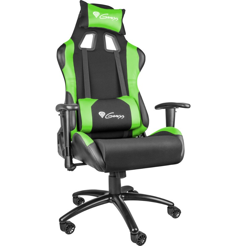 chair-scaun-gaming-genesis-nitro-550-black-green