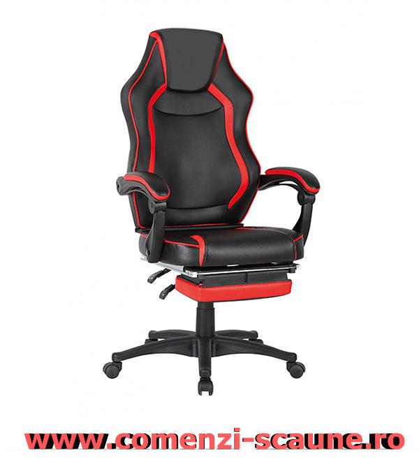 Scaune-de-birou-confortabile-cu-suport-pentru-picioare-gaming-rosu