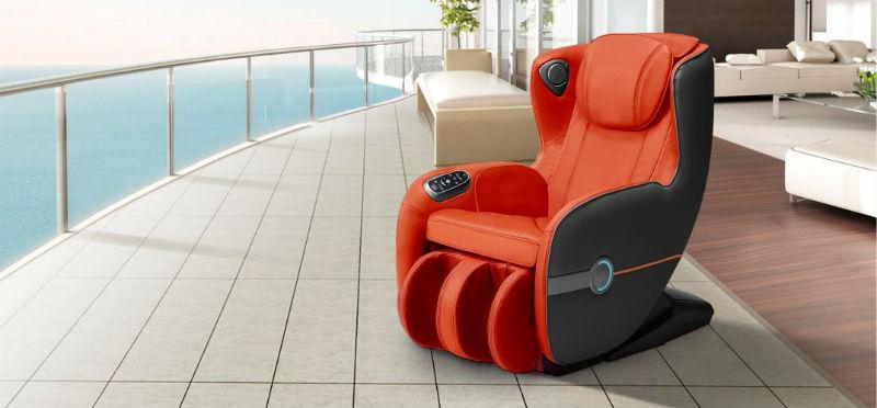 Fotoliu de masaj 3D Full Body cu două sisteme de masaj