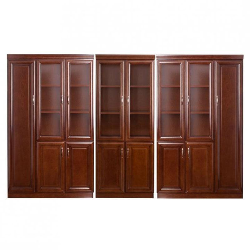 Set vitrina pentru birou directorial format din 3 piese-1208-1