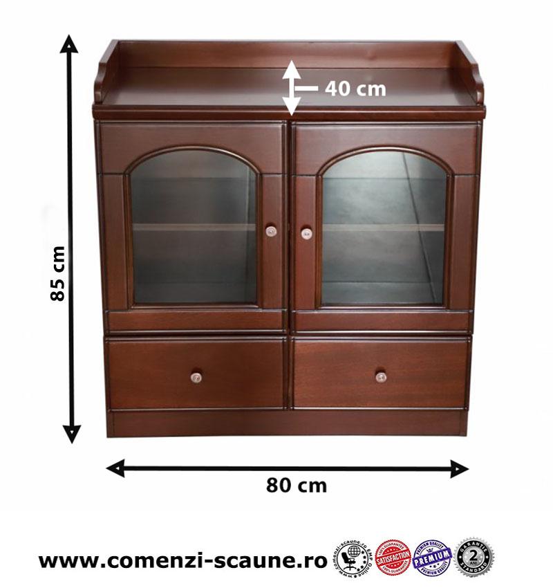Dulap de birou cafea pentru birou directorial-80 cm-8001-2