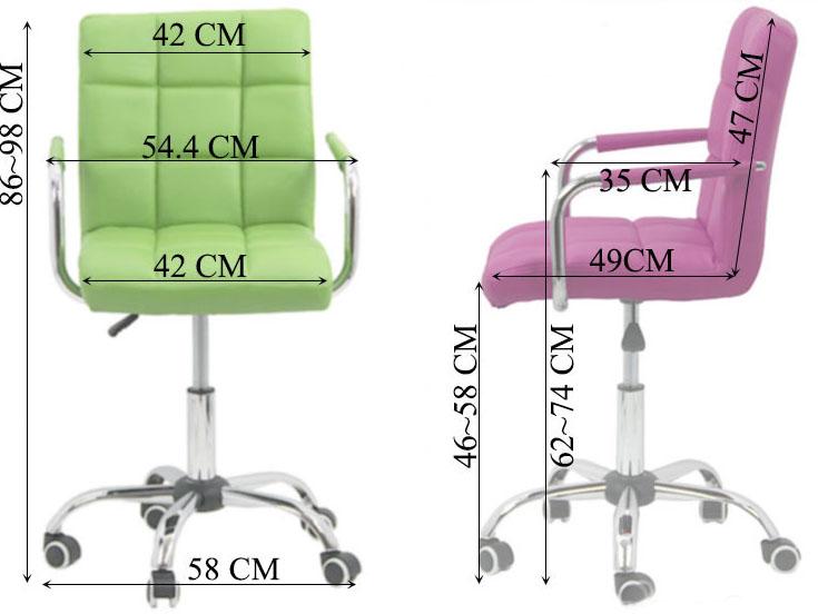 scaune-pentru-copii-din-piele-ecologica-roz-dimensiuni