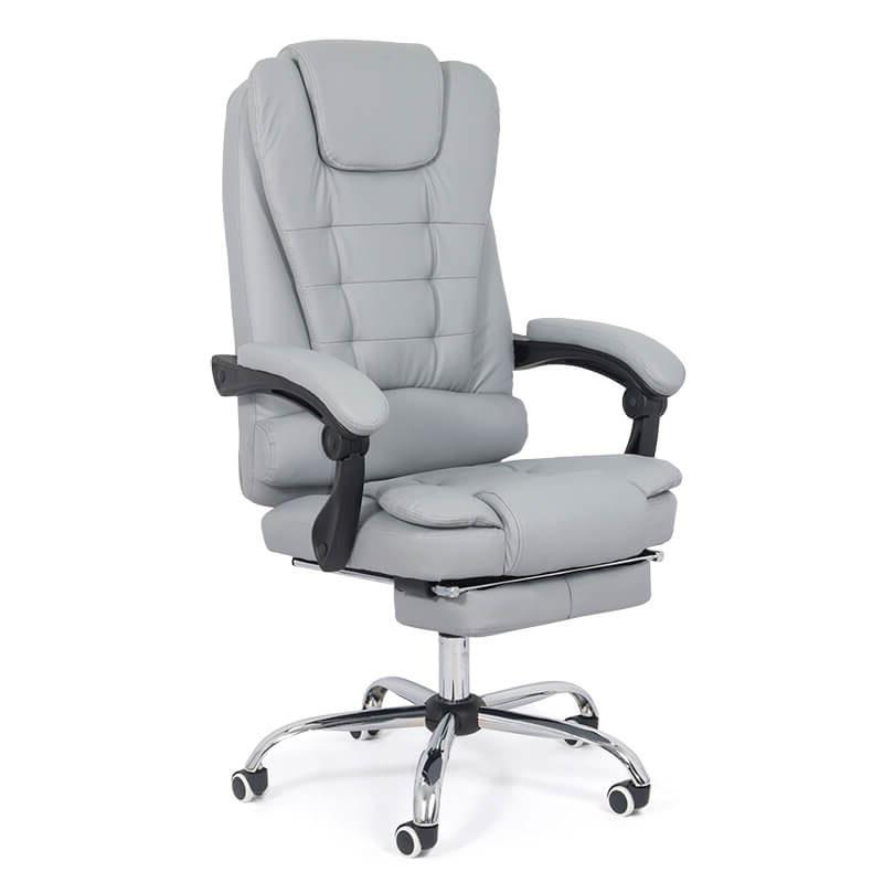 scaun-cu-suport-pentru-picioare-gri