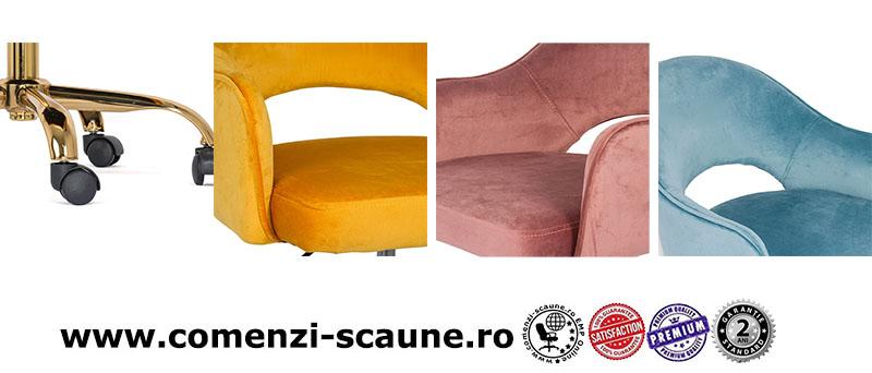 scaune-de-birou-moderne-din-catifea-pentru-copii-in-diferite-culori-baza-aurie