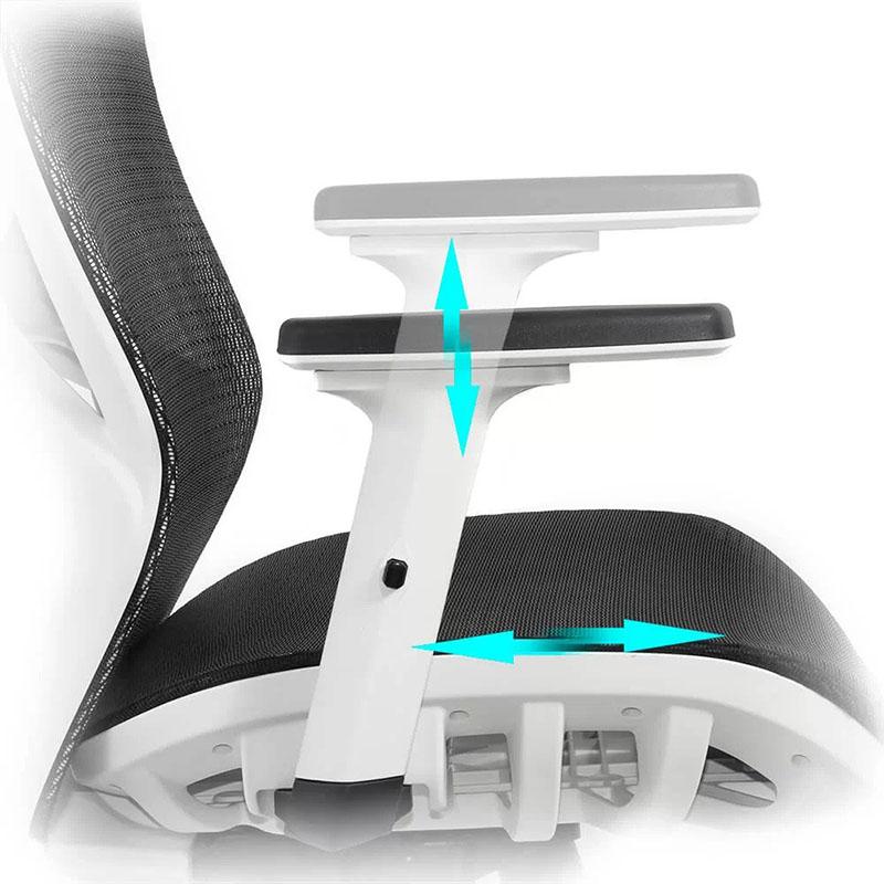 Scaun ergonomic multifunctional si elegant cu tetiera pe culoarea negru-SYYT-9503-3