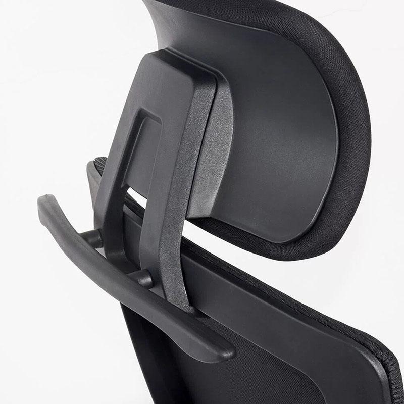 Scaun ergonomic cu brate reglabile si tetiera-negru-SYYT-9504-3