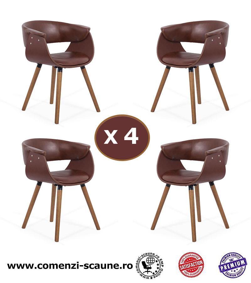 set-4-scaune-de-bucatarie-si-dining-cu-spatar-rotunjit