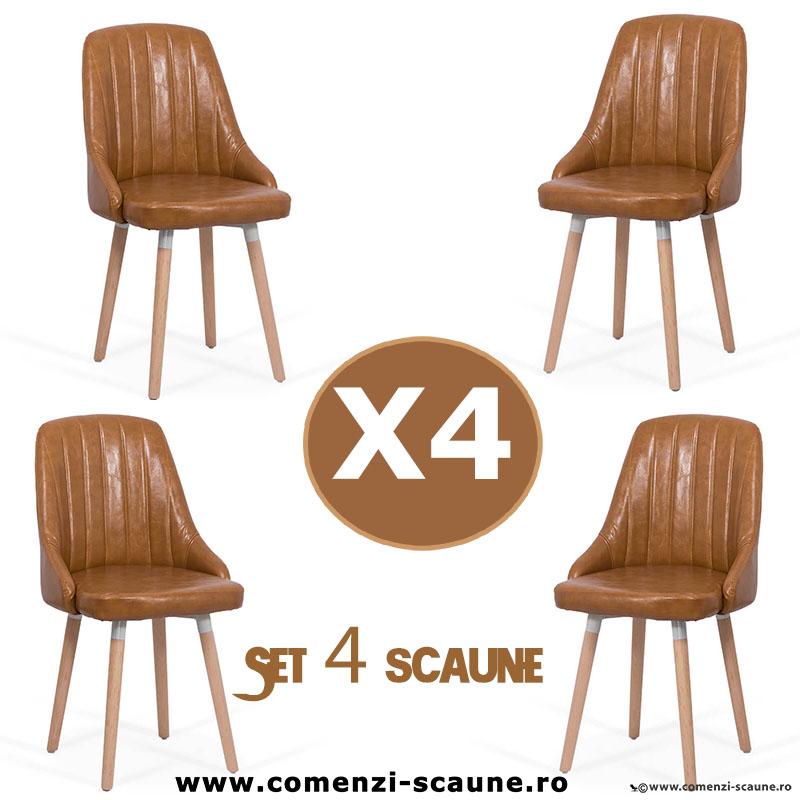 set-4-scaune-de-bucatarie-si-living-204-maro