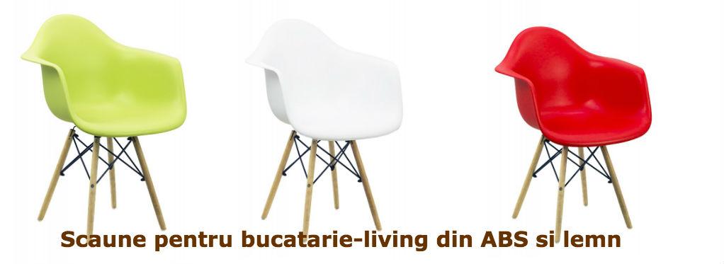 Scaun-pentru-bucatarie-sau-living-din-ABS-si-lemn