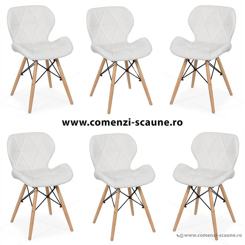 set-6-scaune-de-bucatarie-din-piele-si-lemn-alb