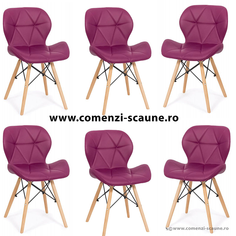 set-6-scaune-de-bucatarie-din-piele-si-lemn-mov