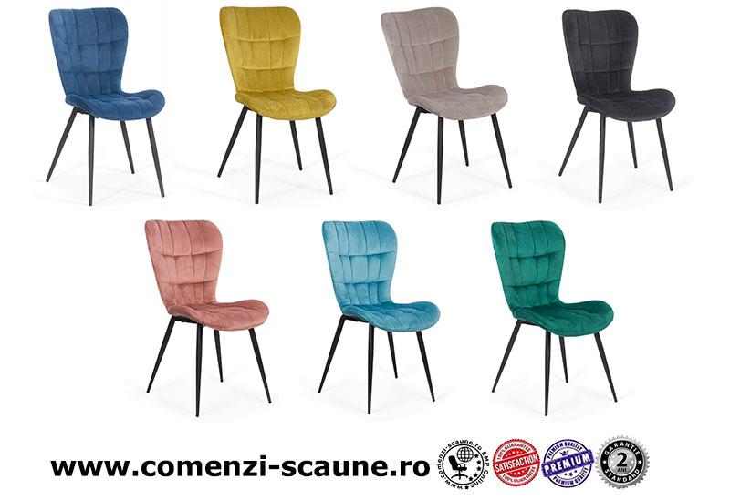 Scaun de bucătărie și living din catifea-7 culori