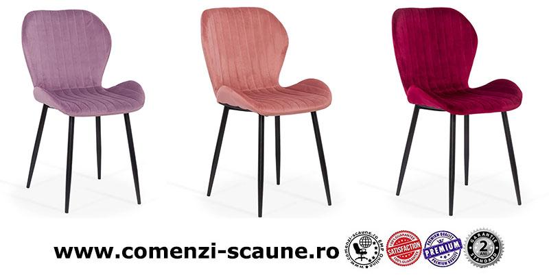 scaune-bucatarie-living-din-catifea-pe-culoarea-mov-roz-si-visiniu
