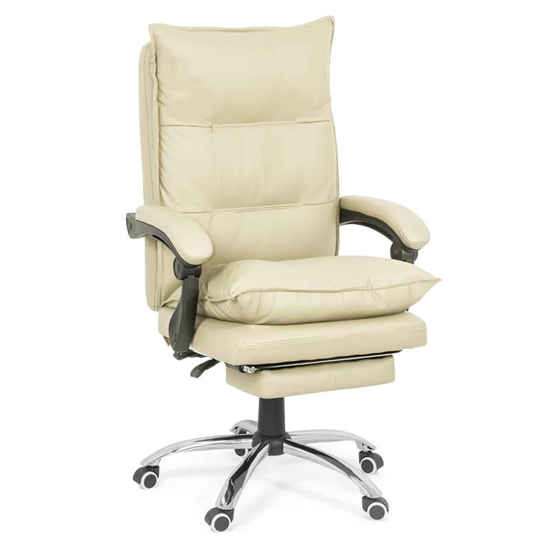 Scaun de birou comod si rezistent pe culoarea roz-OFF419-crem