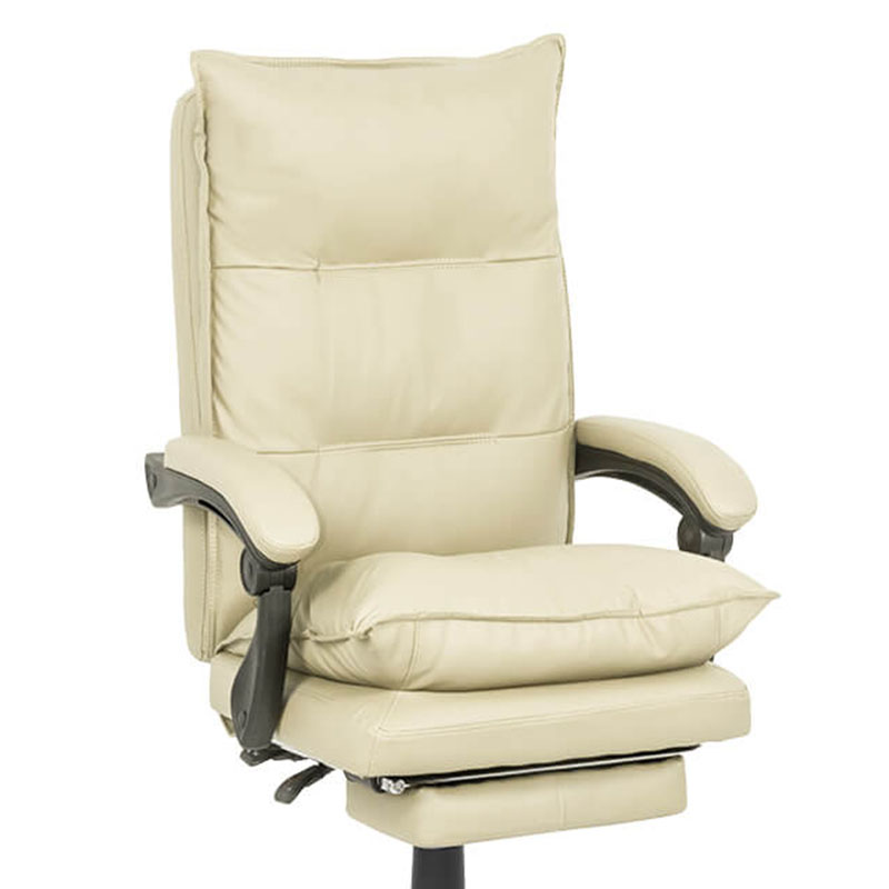 Scaun de birou comod si rezistent pe culoarea roz-OFF419-crem-1