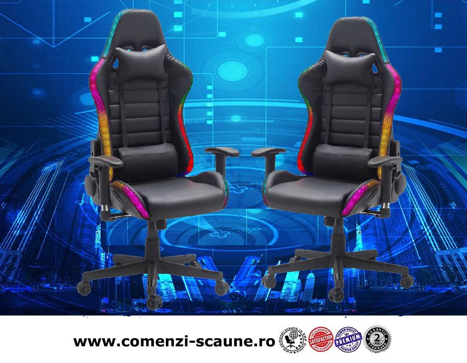 scaune-de-gaming-iluminate-cu-LED-RGB-control-wireless-color