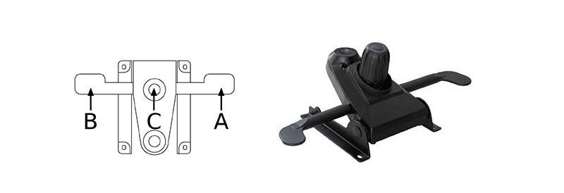 Mecanism multibloc pentru scaun 5600 sett