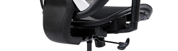 Scaun ergonomic AERO PRO flexibil și rezistent-mecanism