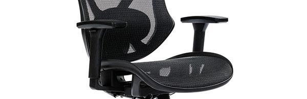 Scaun ergonomic AERO PRO flexibil și rezistent-brate reglabile