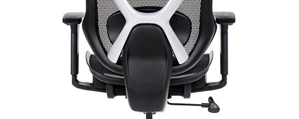 Scaun ergonomic AERO PRO flexibil și rezistent-suport lombar