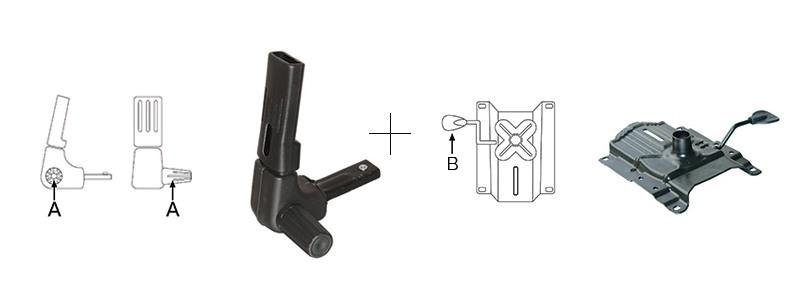 Mecanism scaun ergonomic