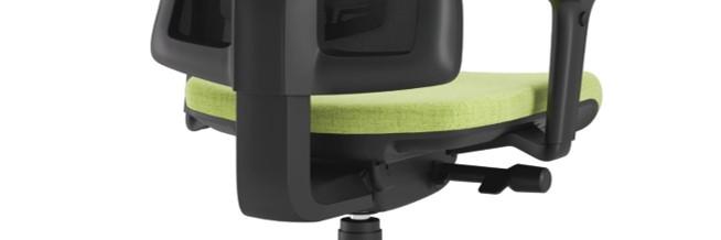 Scaun ergonomic confortabil și relaxant-PURE BLACK MESH-Mecanism sincron