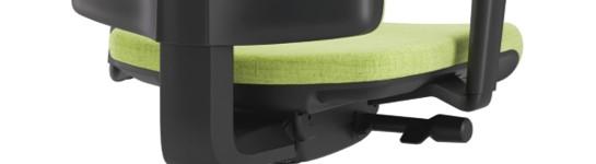 Scaun ergonomic confortabil și relaxant-PURE BLACK T-2