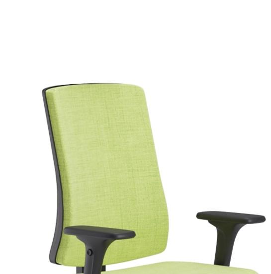 Scaun ergonomic confortabil și relaxant-PURE BLACK T-6