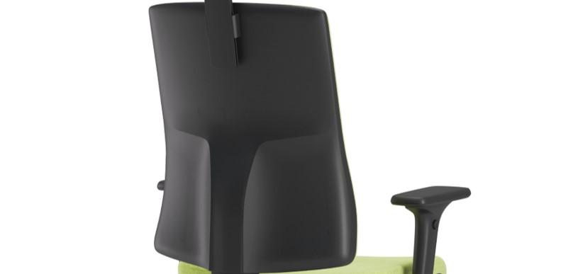Scaun ergonomic confortabil și relaxant-PURE BLACK T-4
