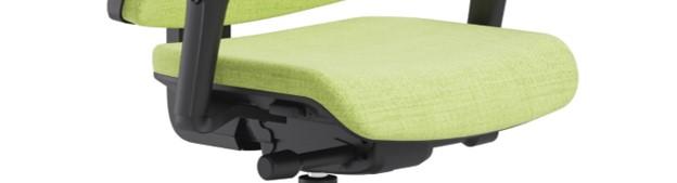 Scaun ergonomic confortabil și relaxant-PURE BLACK T-5
