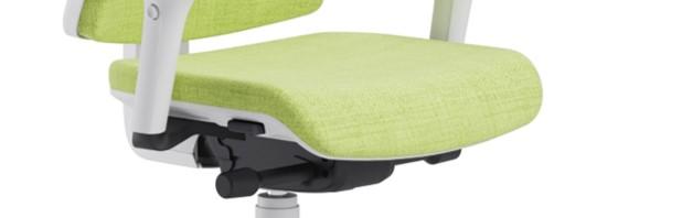 Scaun ergonomic confortabil si relaxant-PURE WHITE T-Translație șezut