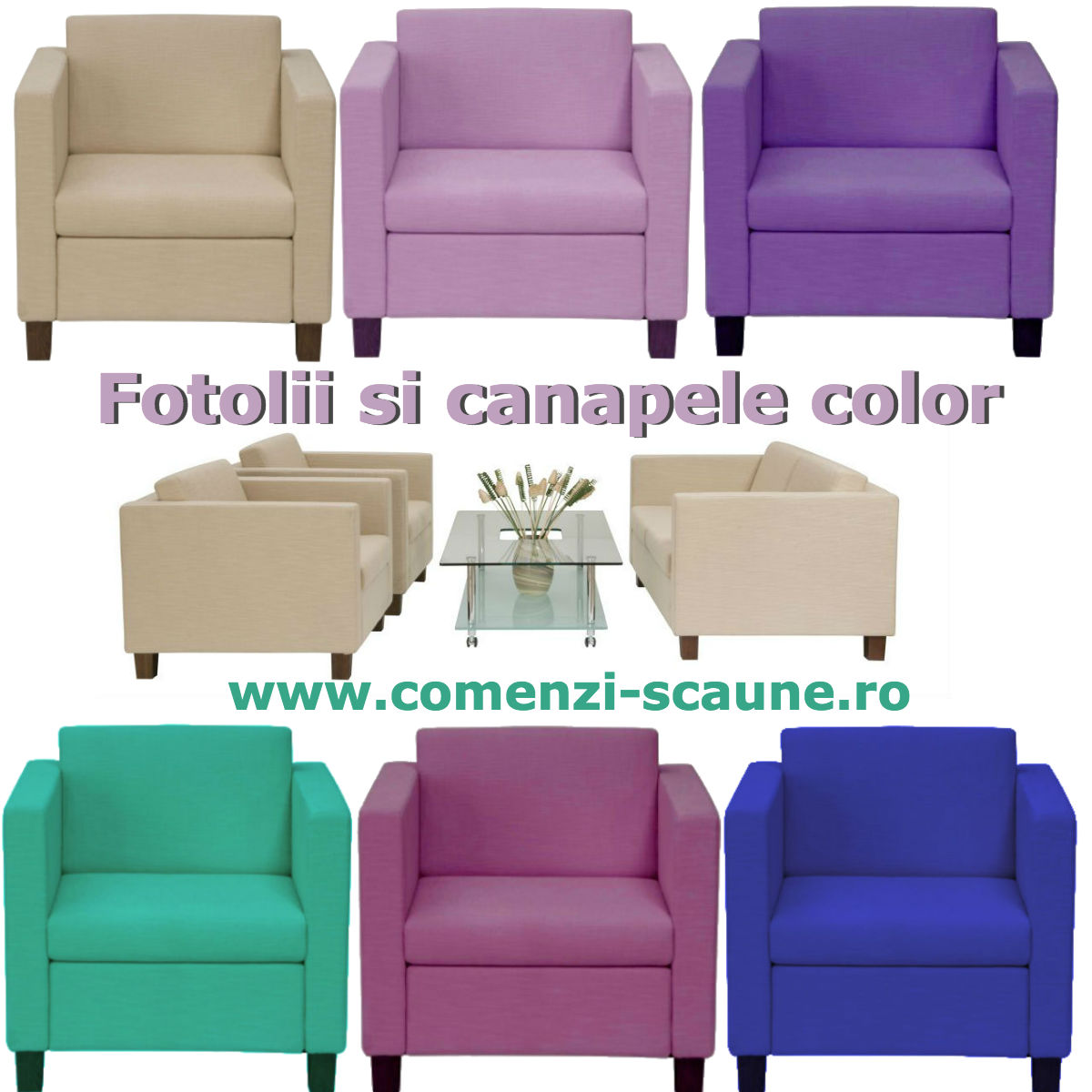 Fotolii-si-canapele-tapitate-color