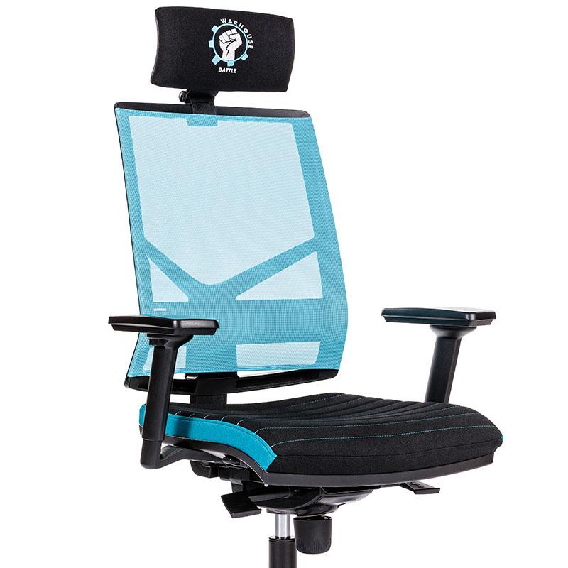 Scaune de gaming și birou confortabile design inovator-Battle Cyan-1
