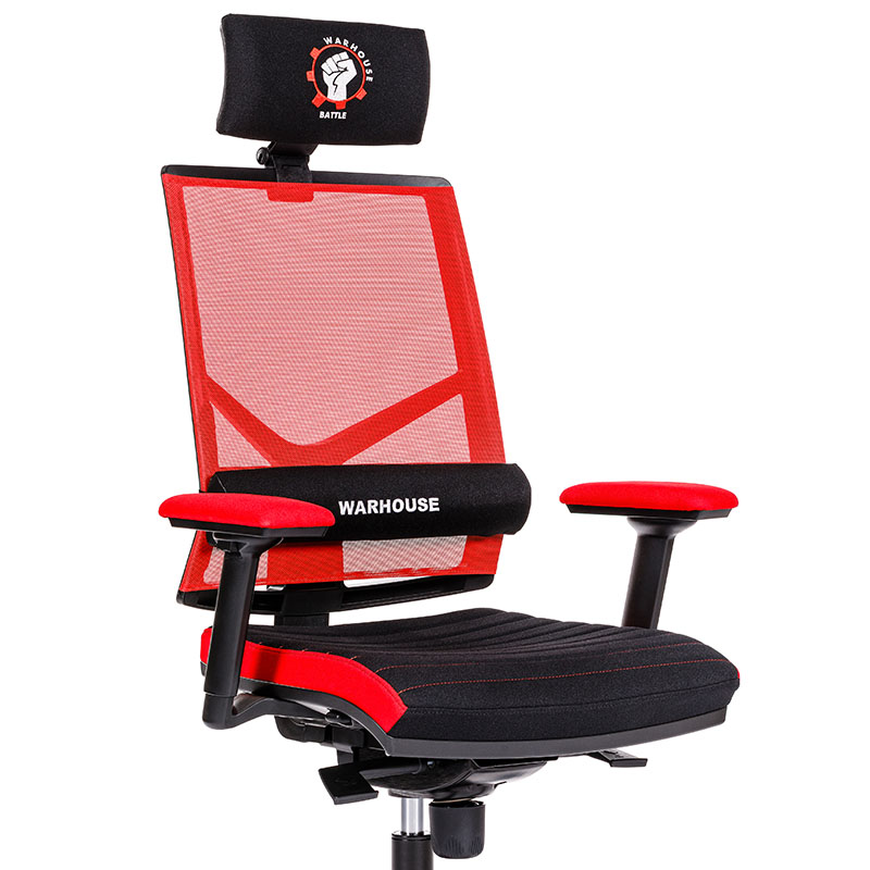 Scaune de gaming și birou confortabile design inovator-Battle Red-1
