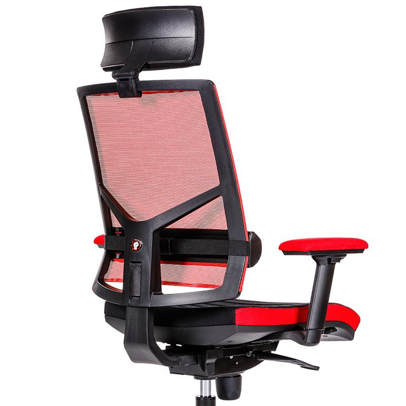 Scaun de gaming și birou design inovator-Battle Red-2