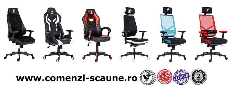 Scaune de gaming și birou gama WARHOUSE-6 color