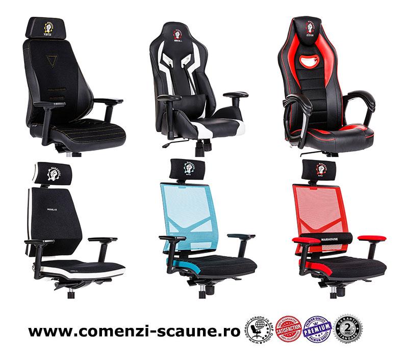 Scaune de gaming și birou gama WARHOUSE-6 chairs