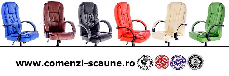 Scaune pentru birou rezistente și confortabile-baza metalică-300