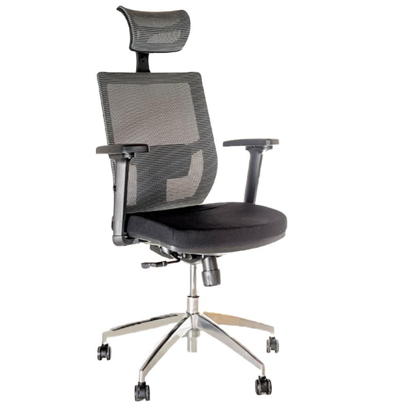 Scaun-ergonomic-pentru-birou-negru-cu-gri-383