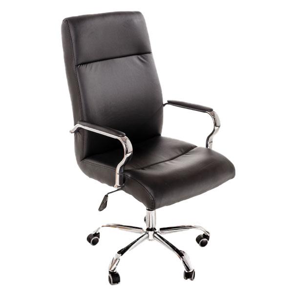 scaun-pentru-birou-cu-brate-metalice-si-baza-metalica