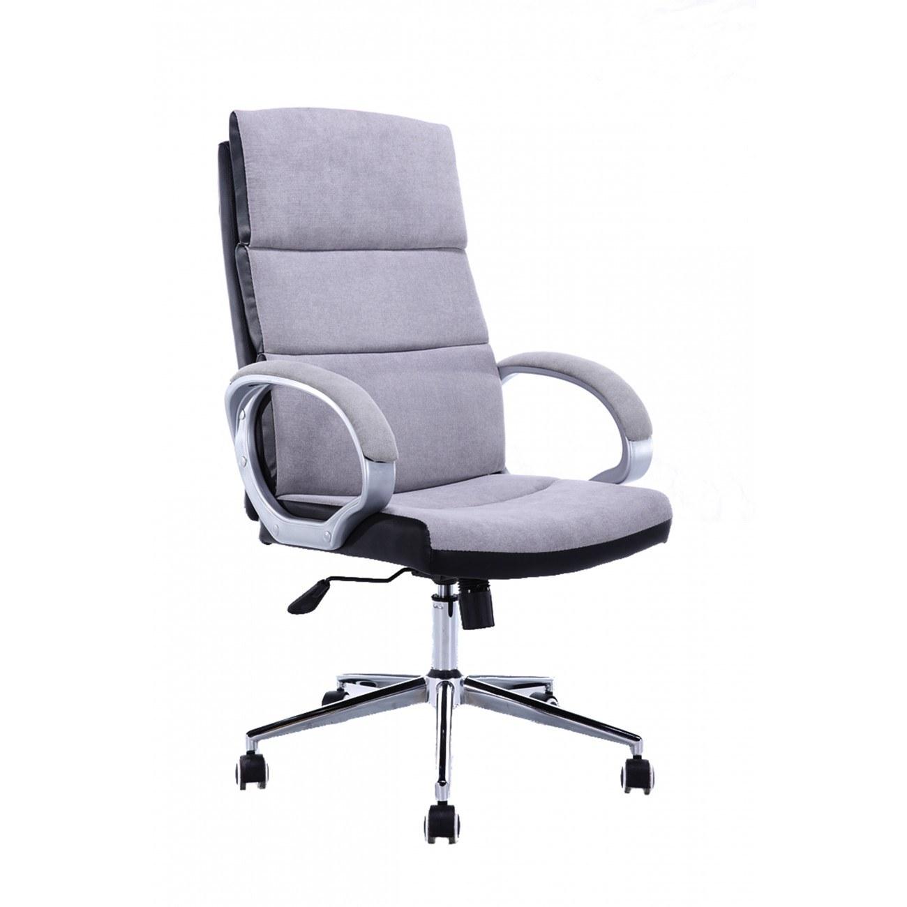 Scaun-de-birou-din-material-textil-gri-deschis
