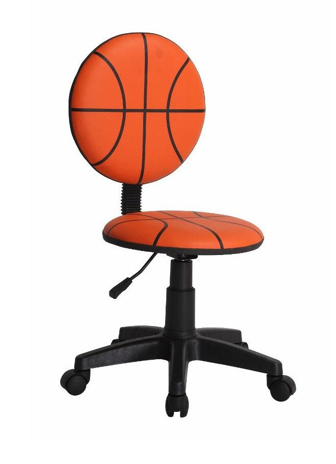 Scaun-birou-culoarea-portocalie