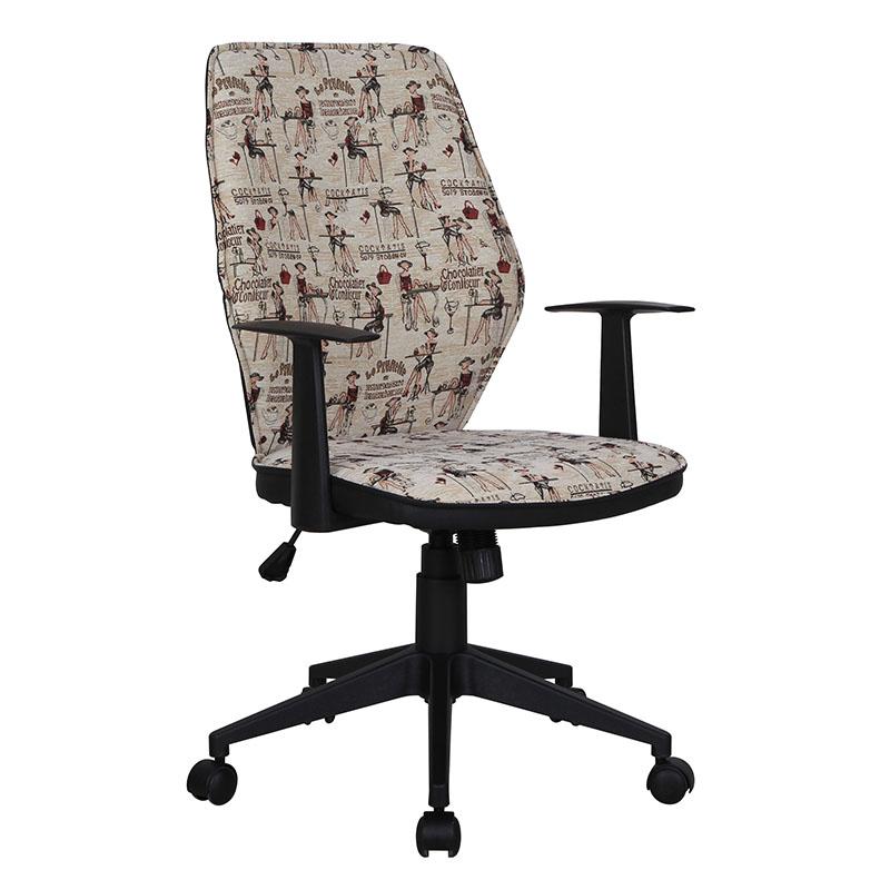 scaun-de-birou-tapitat-cu-material-textil-moale