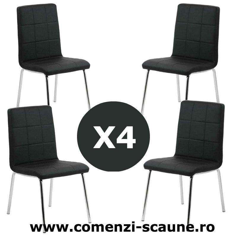 Set-4-scaune-bucatarie-230-negru
