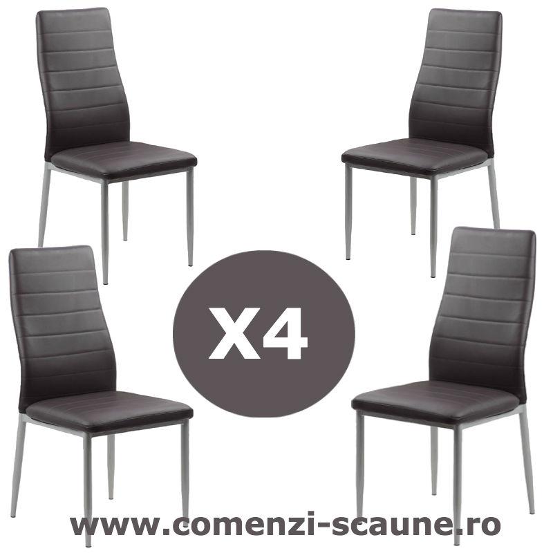Set-4-scaune-bucatarie-maro-comenzi-scaune
