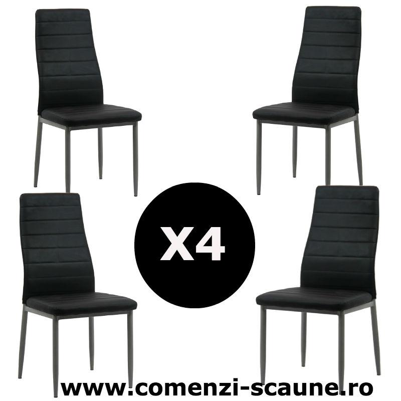 Set-4-scaune-bucatarie-negru-comenzi-scaune
