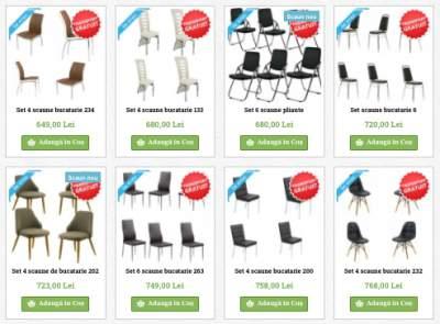 Seturi-scaune-ieftine